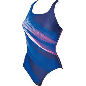 arena Prisma V Back L Swimsuit Women blue